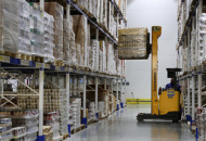 Food distribution centre at ILP Industrial Logistics Park in Russia's Novosibirsk Region